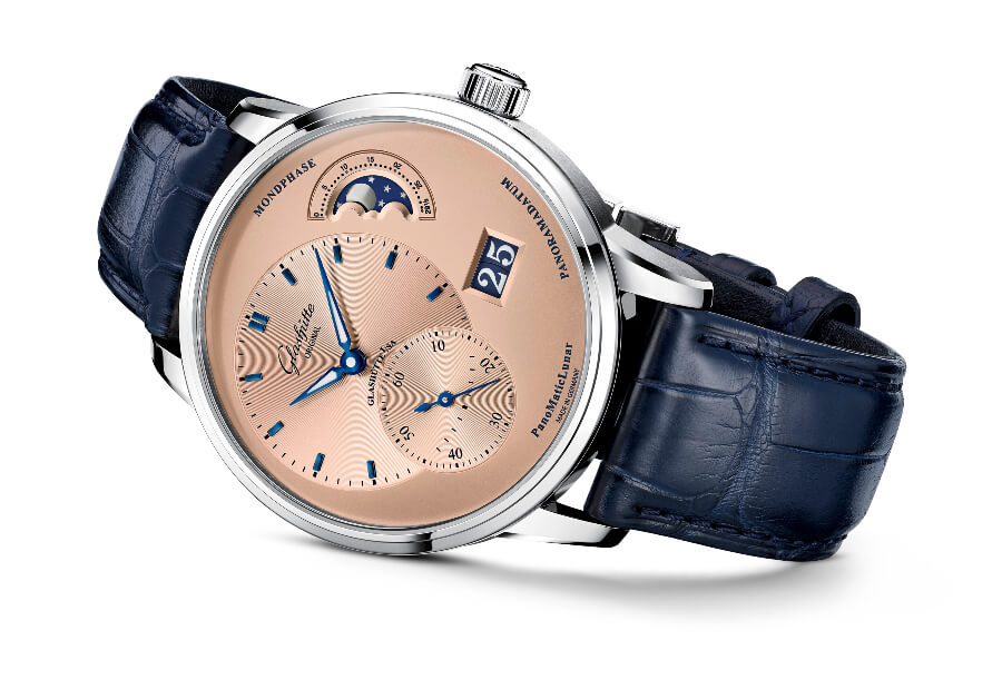 Glashütte Original PanoMaticLunar Rose Opaline Watch Review