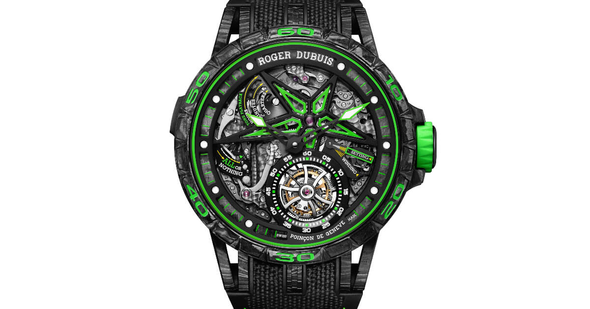 Roger Dubuis Excalibur Spider Unique Series (Specs & Price)