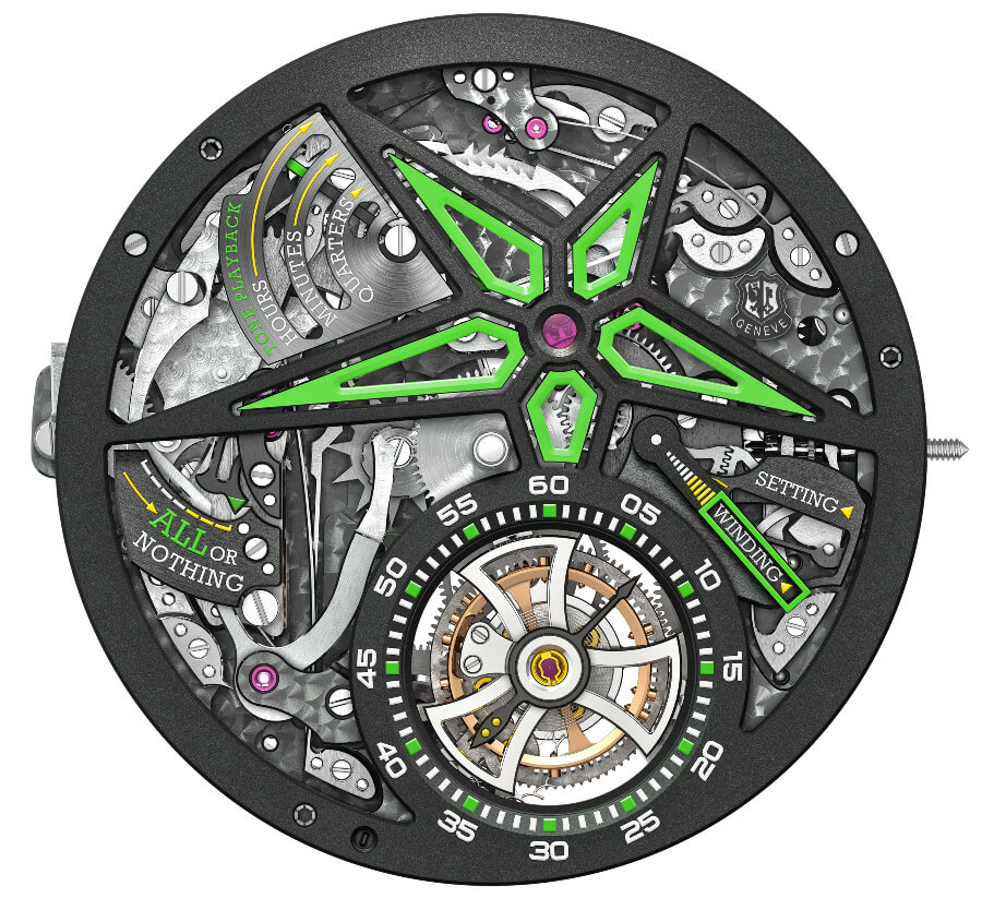 Roger Dubuis RD107 Calibre In House Movement