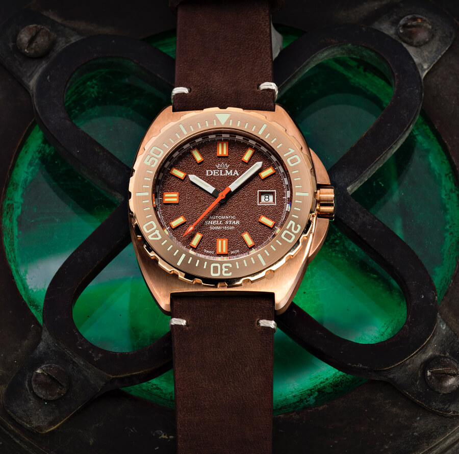 The New Delma Shell Star Bronze