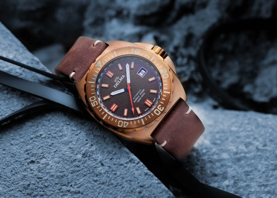 Delma Shell Star Bronze Watch Review