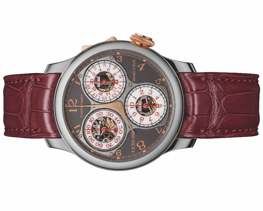 The New F.P.Journe Centigraphe Souverain Anniversaire New York Boutique Edition