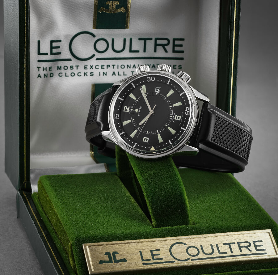 LeCoultre Polaris Memodate (1967) Box and Papers