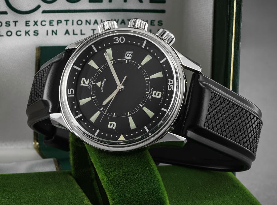 LeCoultre Polaris Memodate Year 1967 For Sale