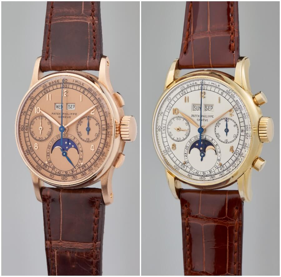 Patek Philippe Ref 1518 and Ref 2499