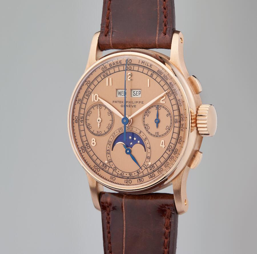 Patek Philippe Perpetual Calendar Chronograph Reference: 1518