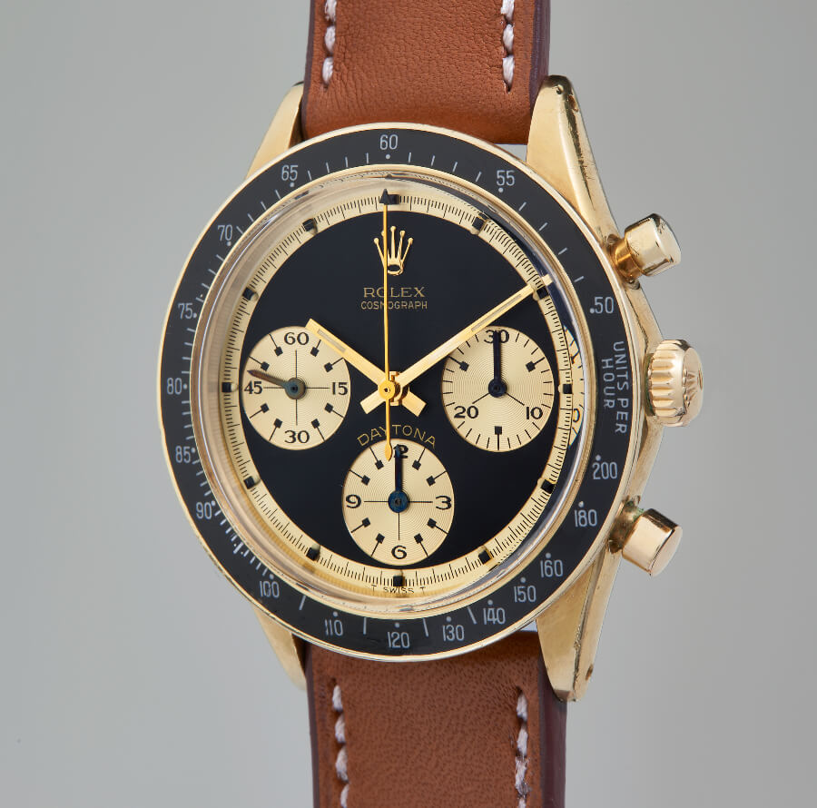 "Rolex Cosmograph Daytona ""Paul Newman John Player Special"" Reference: 6241"