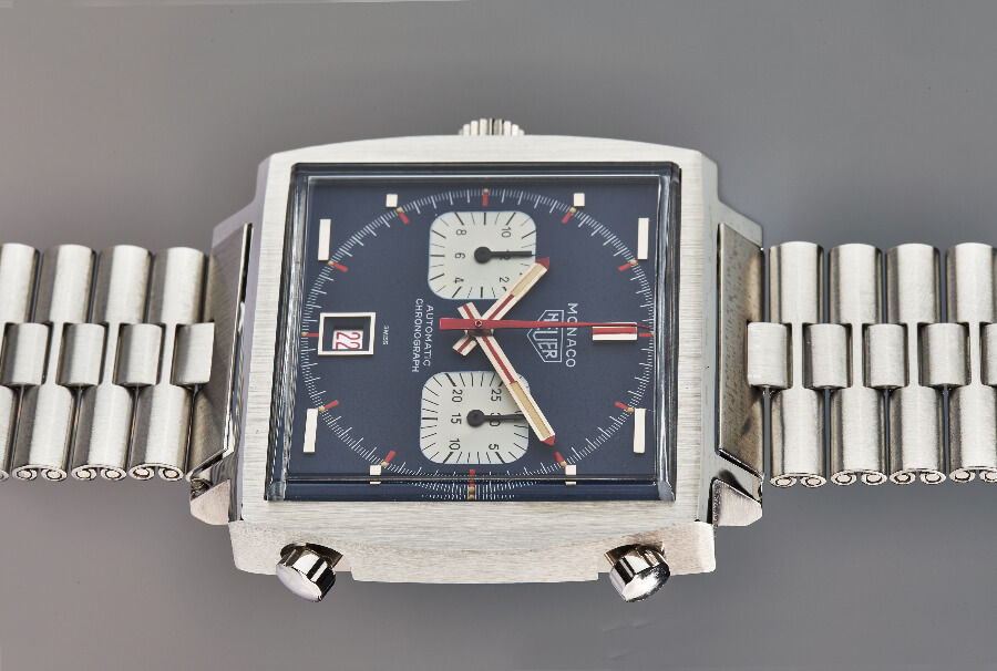 TAG Heuer Monaco Piece d'Art, Unique Piece 50th Anniversary