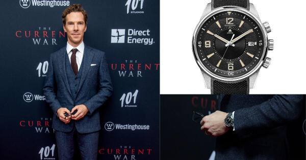 Watch Spotting: Benedict Cumberbatch and his Jaeger-LeCoultre Polaris Memovox