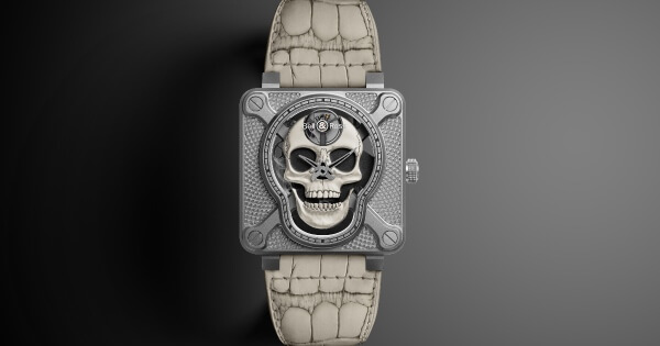Bell & Ross BR01 Laughing Skull White (Price, Pictures and Specifications)