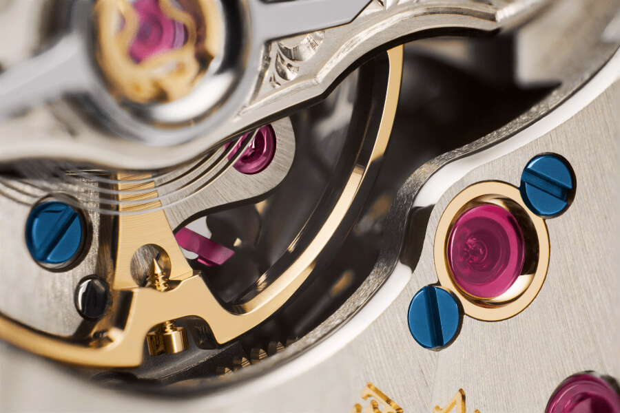 A. Lange & Söhne Odysseus Goldchaton Close Up
