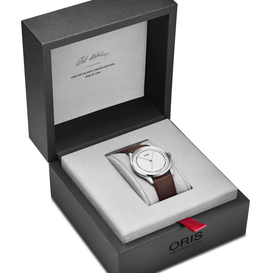 Oris Art Blakey Limited Edition Box and Papers