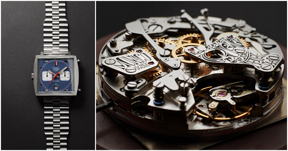 TAG Heuer Monaco Piece d'Art Reference 1133B (Estimate: $30,000 to $60,000)
