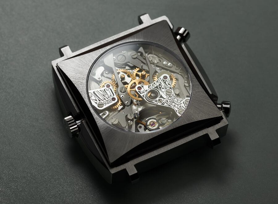 TAG Heuer Monaco Piece d'Art Reference 1133B Movement