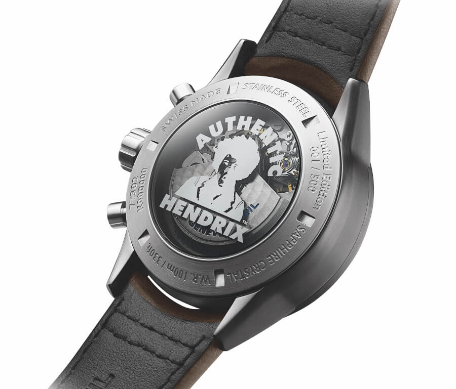 Raymond Weil Freelancer Jimi Hendrix Limited Edition Moement