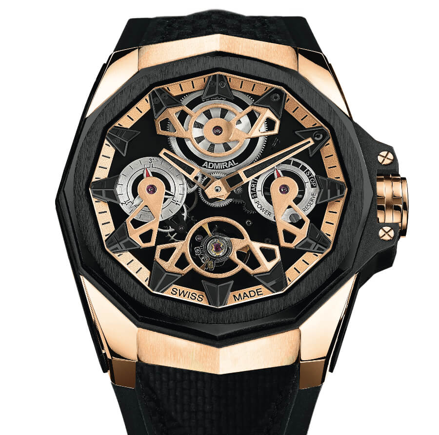 Corum AC-One 45 Openwork Automatic Gold