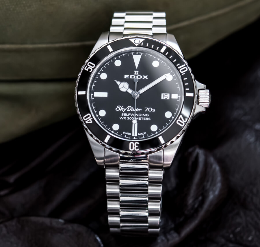 Edox Skydiver 70s Date Automatic Watch Review