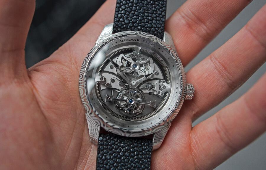 Molnar Fabry Atlantis Tourbillon Watch Review