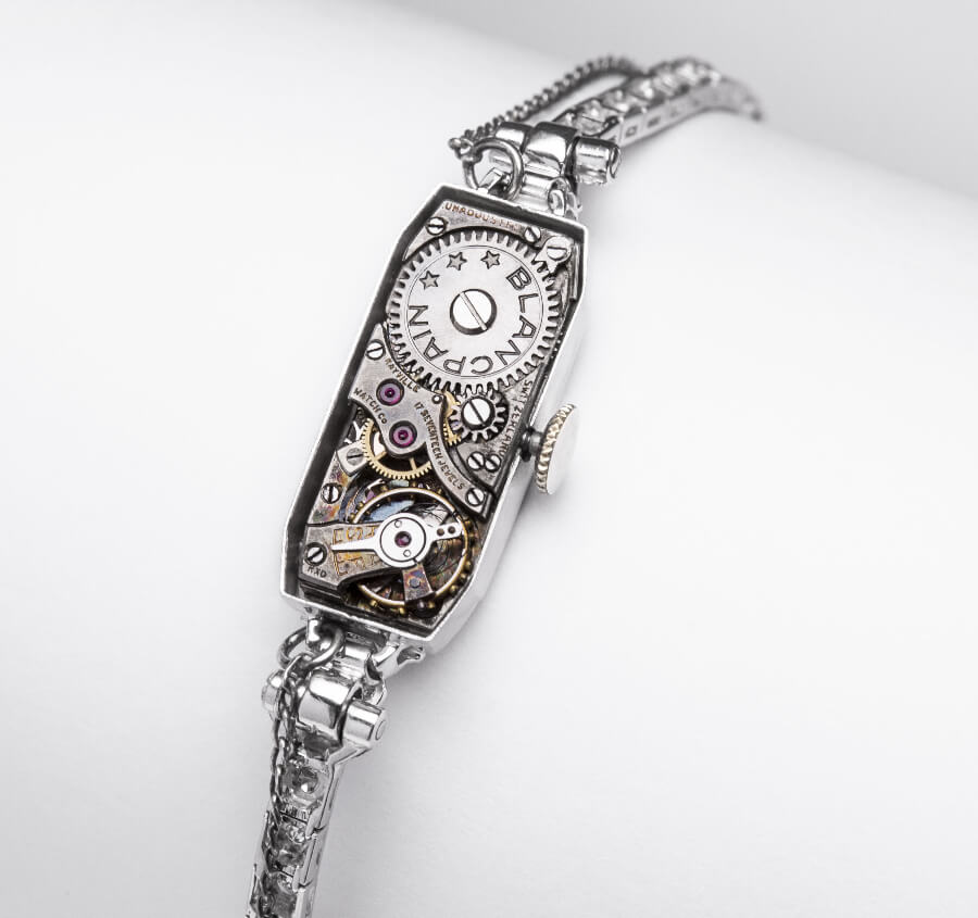 Marilyn Monroe Blancpain Cocktail Watch Movement