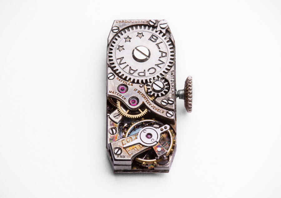 Rayville Watch Co. 17 Jewels FHF 59 watch movement