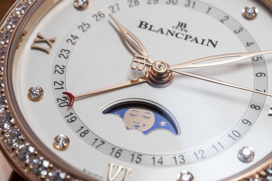 Blancpain Feminine Moon Phases