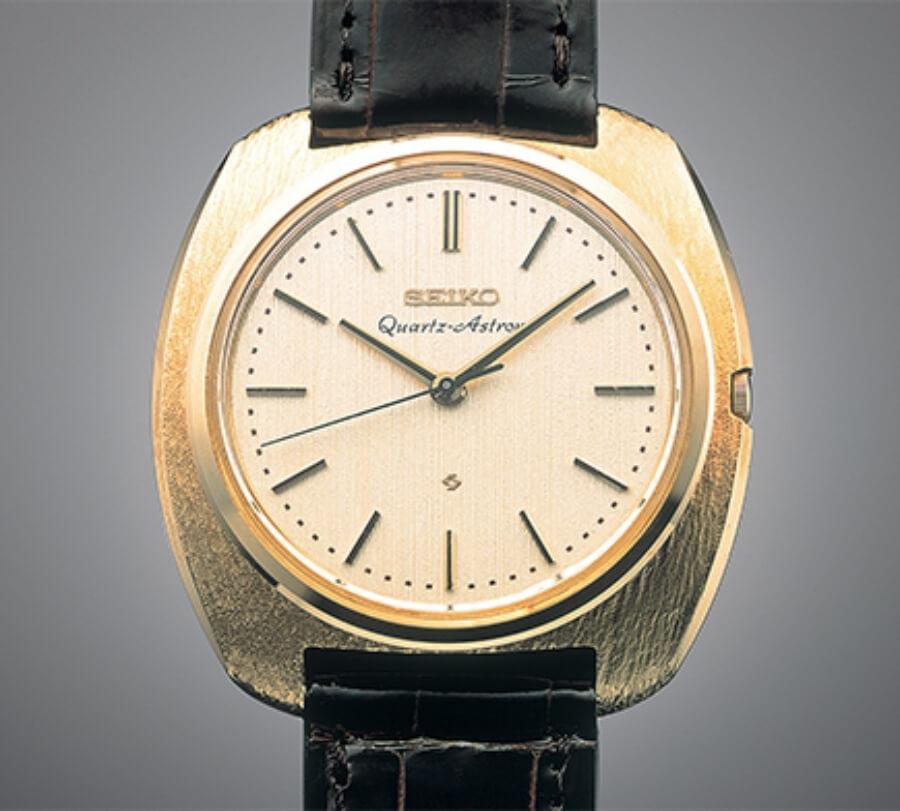 The 1969 Quartz Astron that began a watchmaking revolution