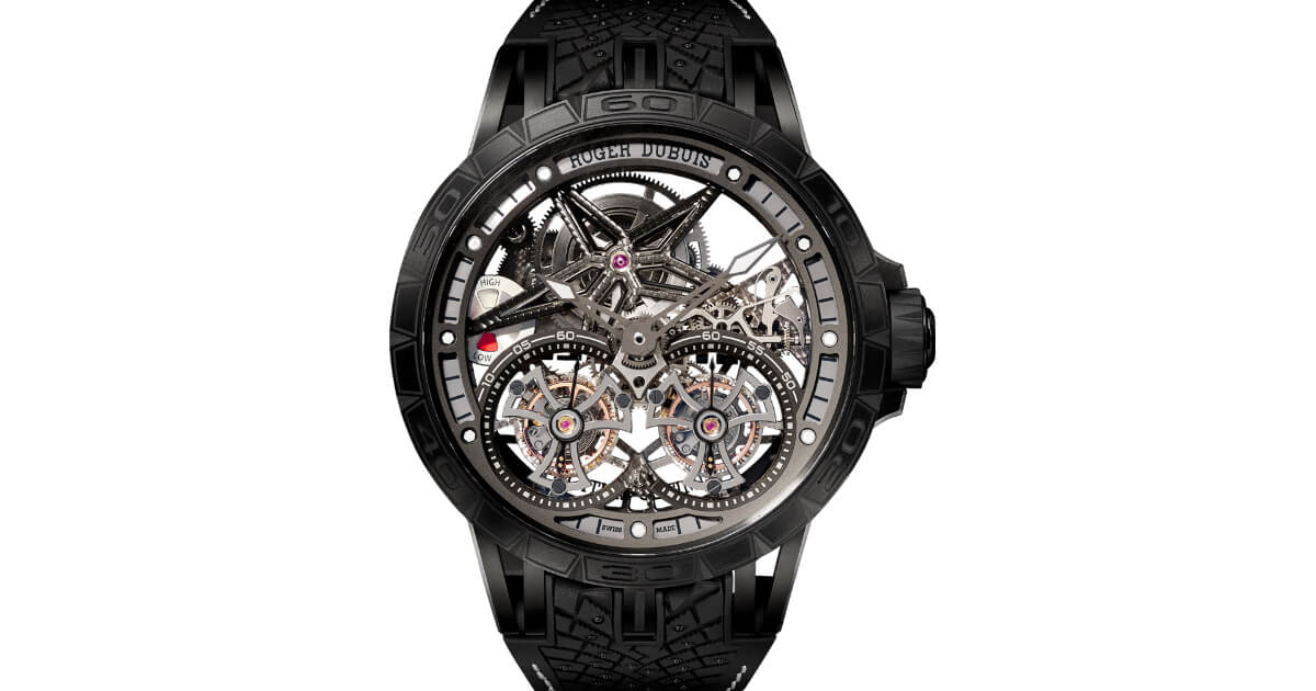 The New Roger Dubuis Excalibur Pirelli ICE Zero 2