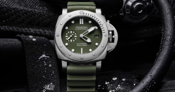 Panerai Submersible Verde Militare – Online Exclusive Edition (Price & Specifications)