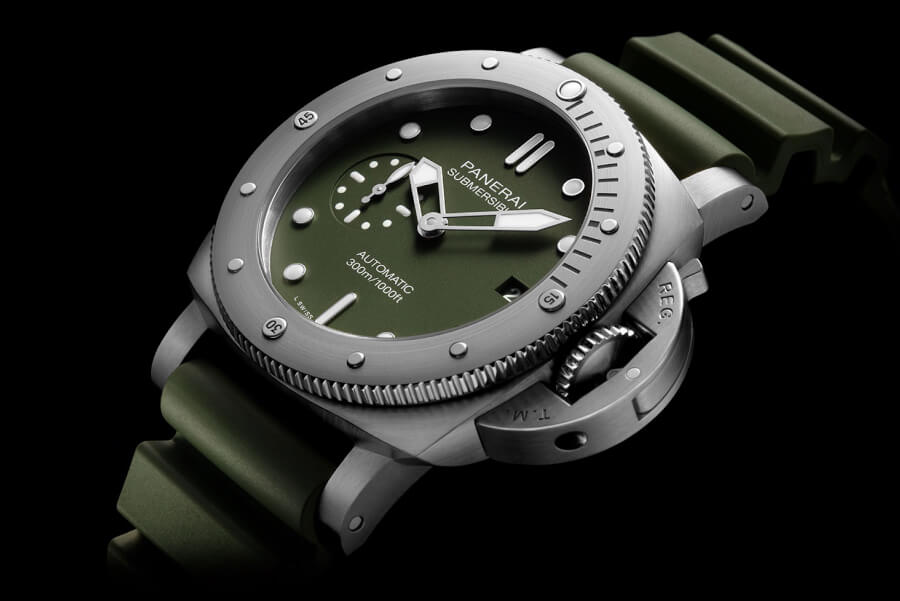 The New Panerai Submersible Verde Militare