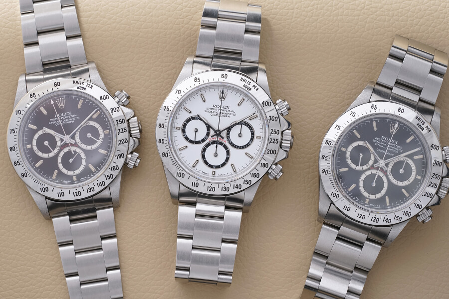 "Rolex - Cosmograph ""Zenith"" Daytona Reference 16520 with Mark II bezels"