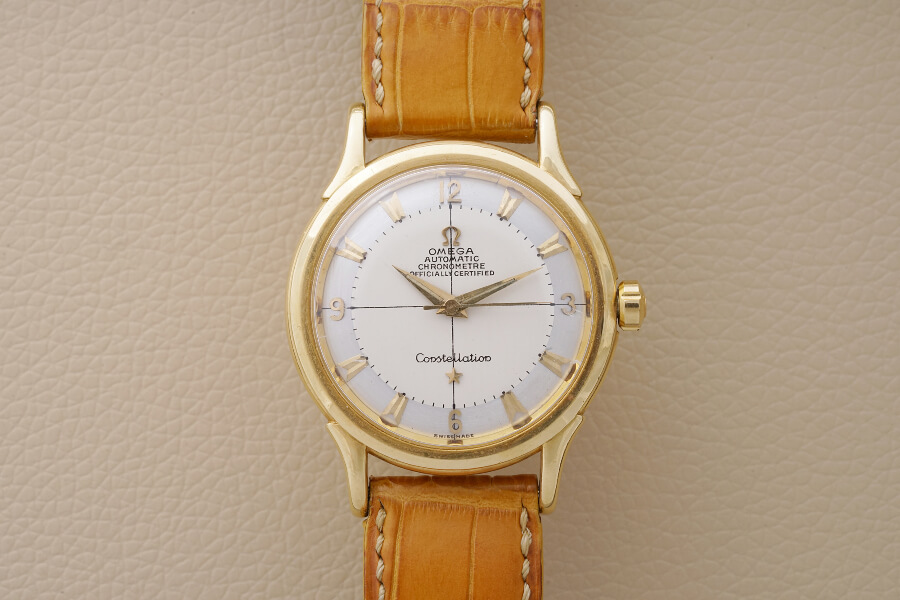 Omega Constellation in yellow gold given to JCB for his communion