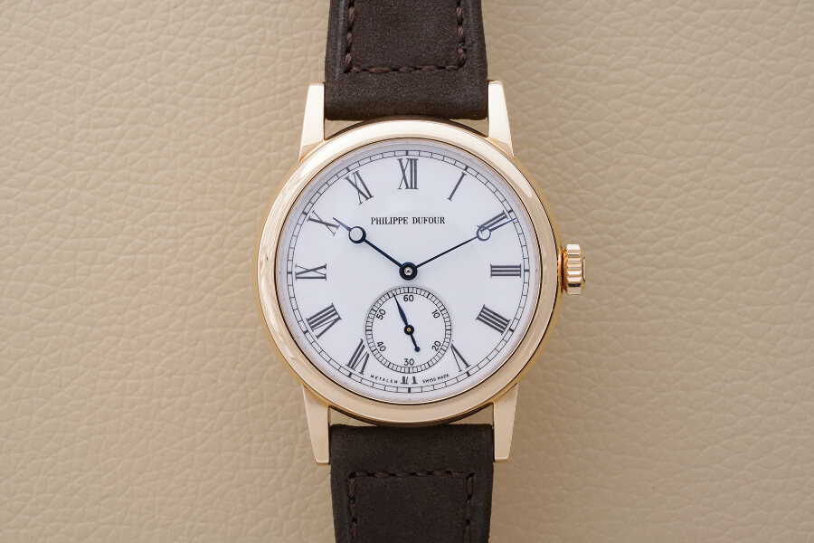 Philippe Dufour Simplicity in rose gold, N°180