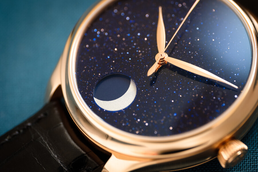 H. Moser & Cie. Endeavour Perpetual Moon Concept Aventurine Dial