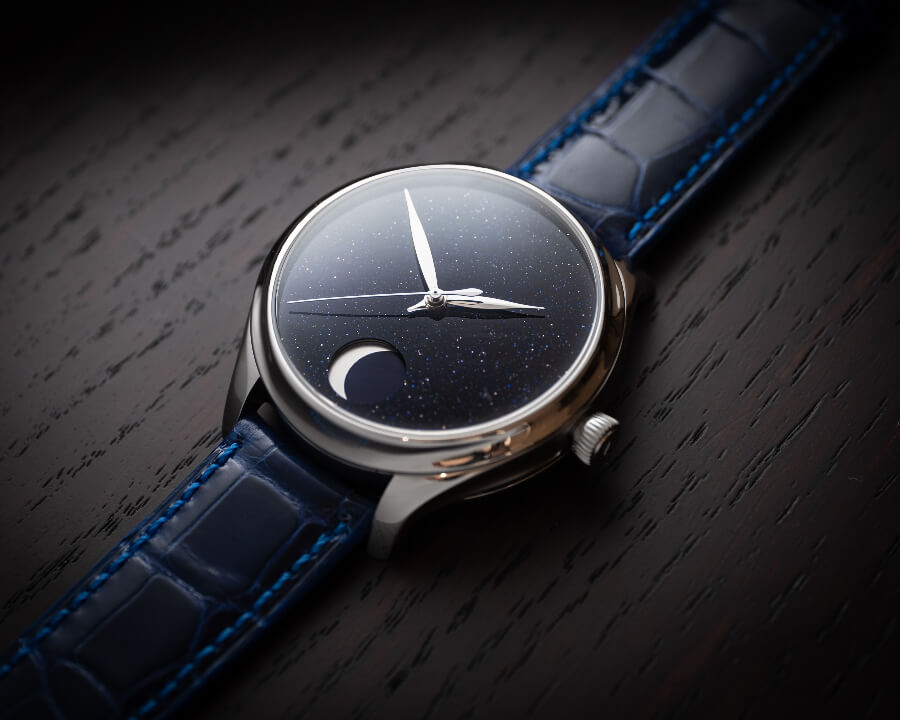 H. Moser & Cie. Endeavour Perpetual Moon Concept Aventurine Watch Review