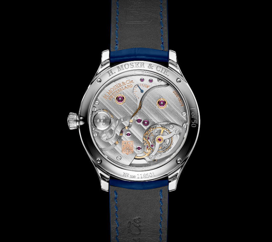 H. Moser & Cie. Endeavour Perpetual Moon Concept Aventurine Watch Movement