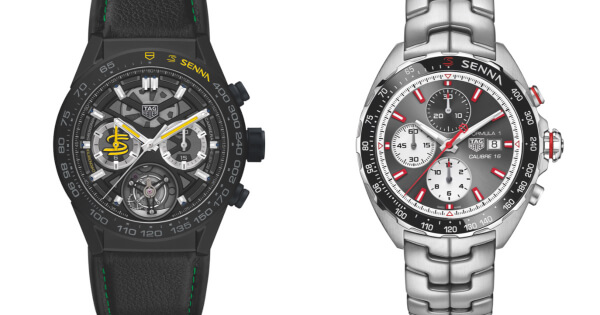 TAG Heuer Carrera Calibre Heuer 02T Ayrton Senna Special Edition 2019 and Formula 1 Calibre 16 Ayrton Senna Special Edition 2019 (Specifications and Price)