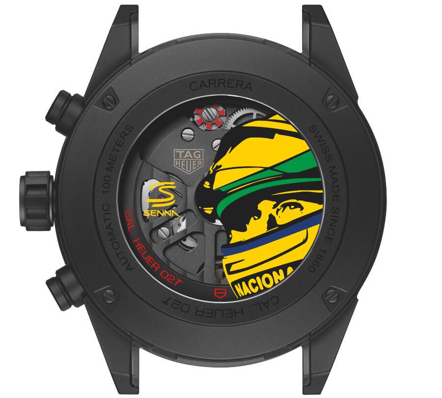 TAG Heuer Carrera Calibre Heuer 02T Ayrton Senna Special Edition 2019 Movement