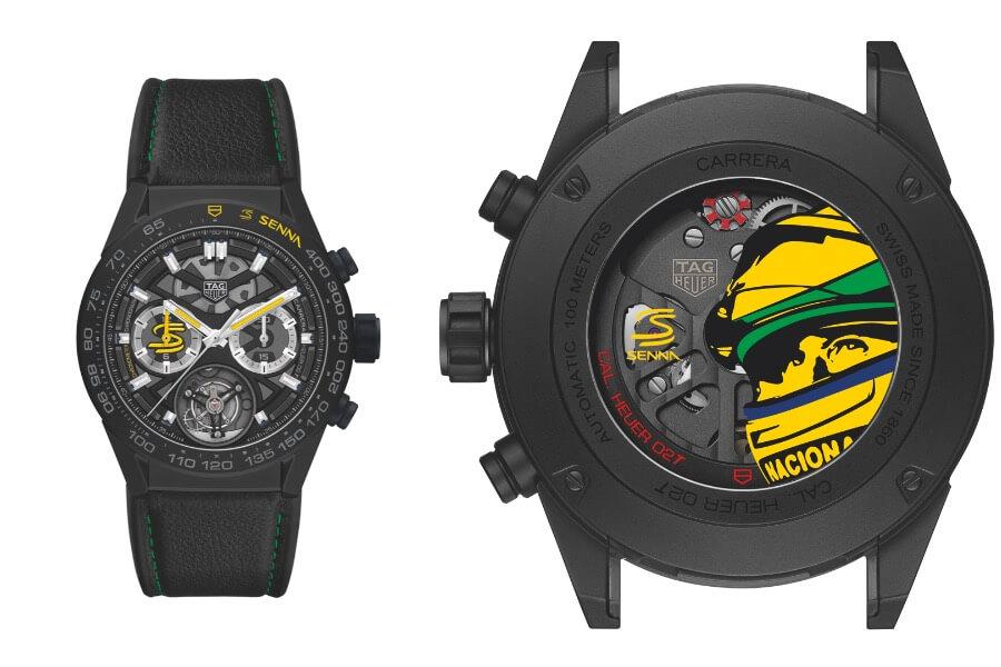 TAG Heuer Carrera Calibre Heuer 02T Ayrton Senna Special Edition 2019
