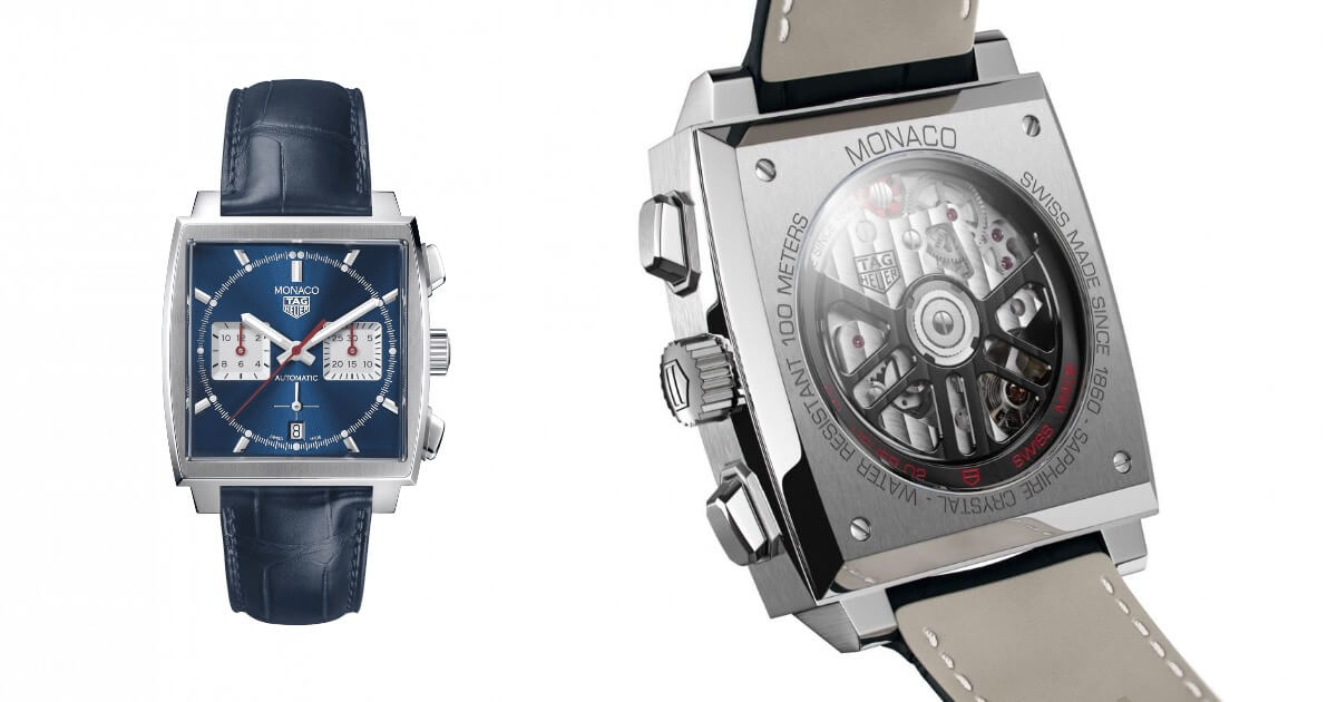The New TAG Heuer Monaco Caliber 02, The First Monaco With A In House Movement (Price & Specs)