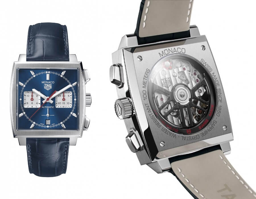 The New TAG Heuer Monaco Caliber 02 In House Movement