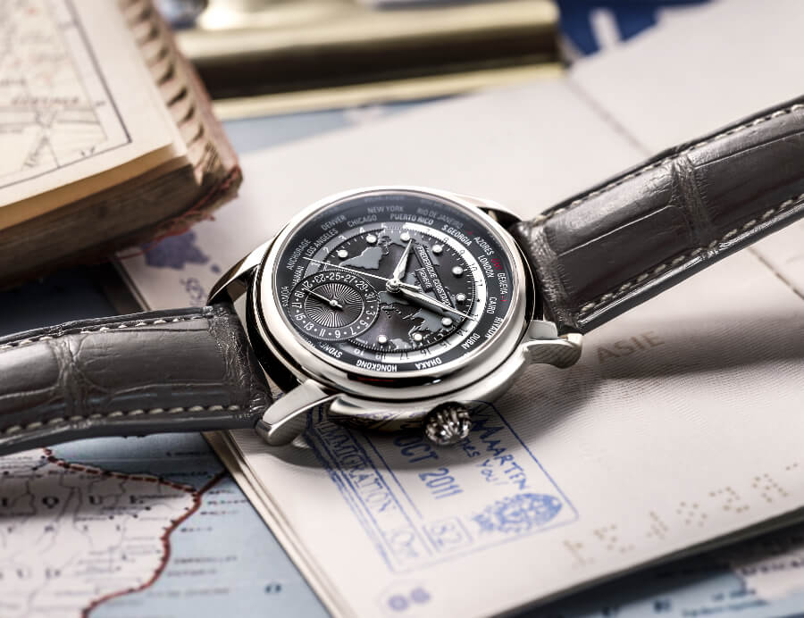 Frederique Constant Classic Worldtimer Manufacture Dark Grey Dial Watch Review