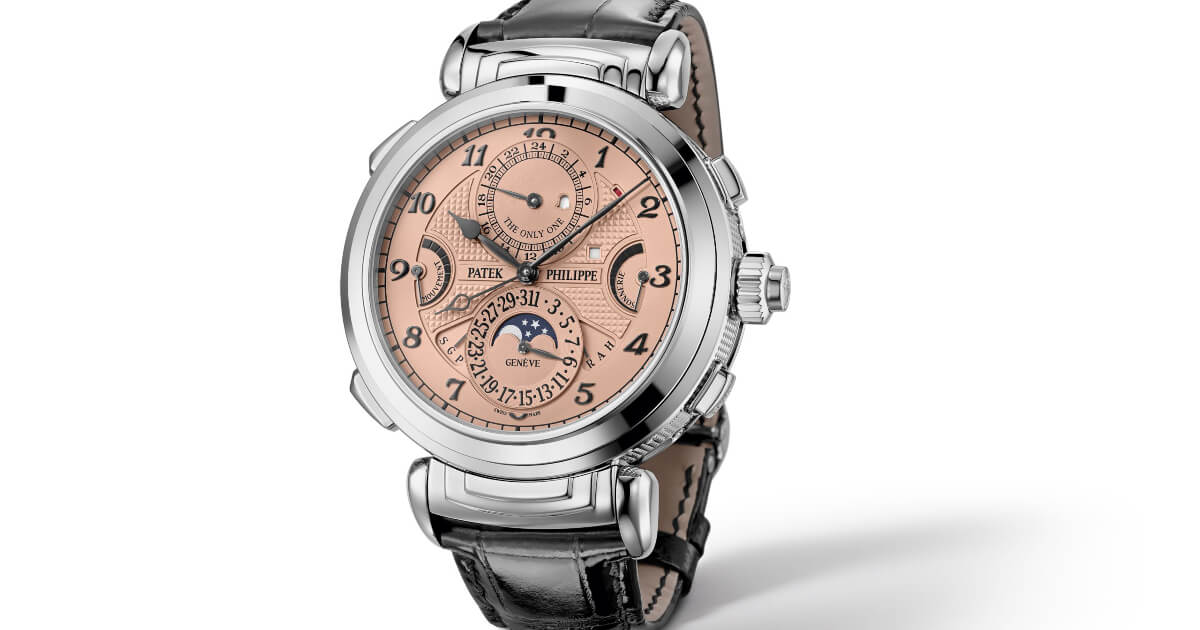 The most expensive watch in the world: Patek Philippe Grandmaster Chime Ref. 6300A-010 In Steel