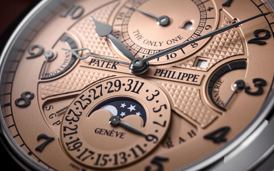 Patek Philippe Grandmaster Chime Ref. 6300A-010 Dial