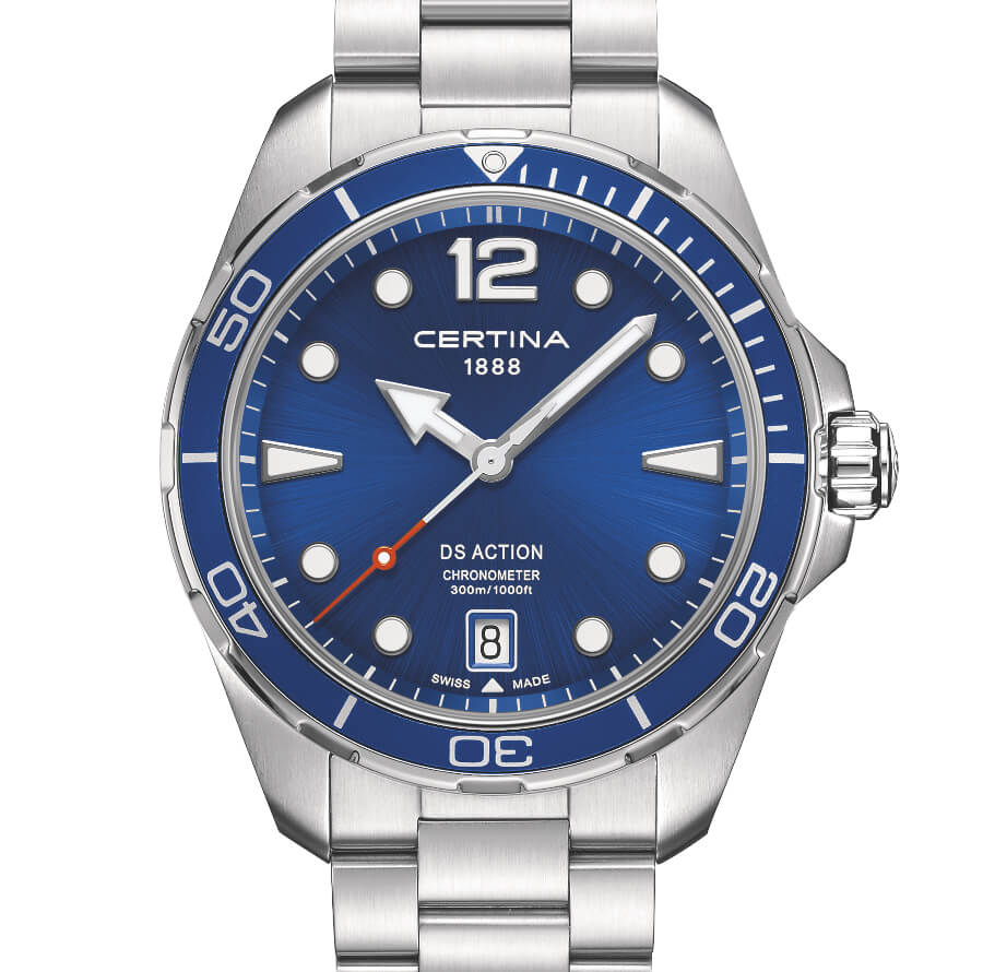 Certina DS Action Diver Blue Dial