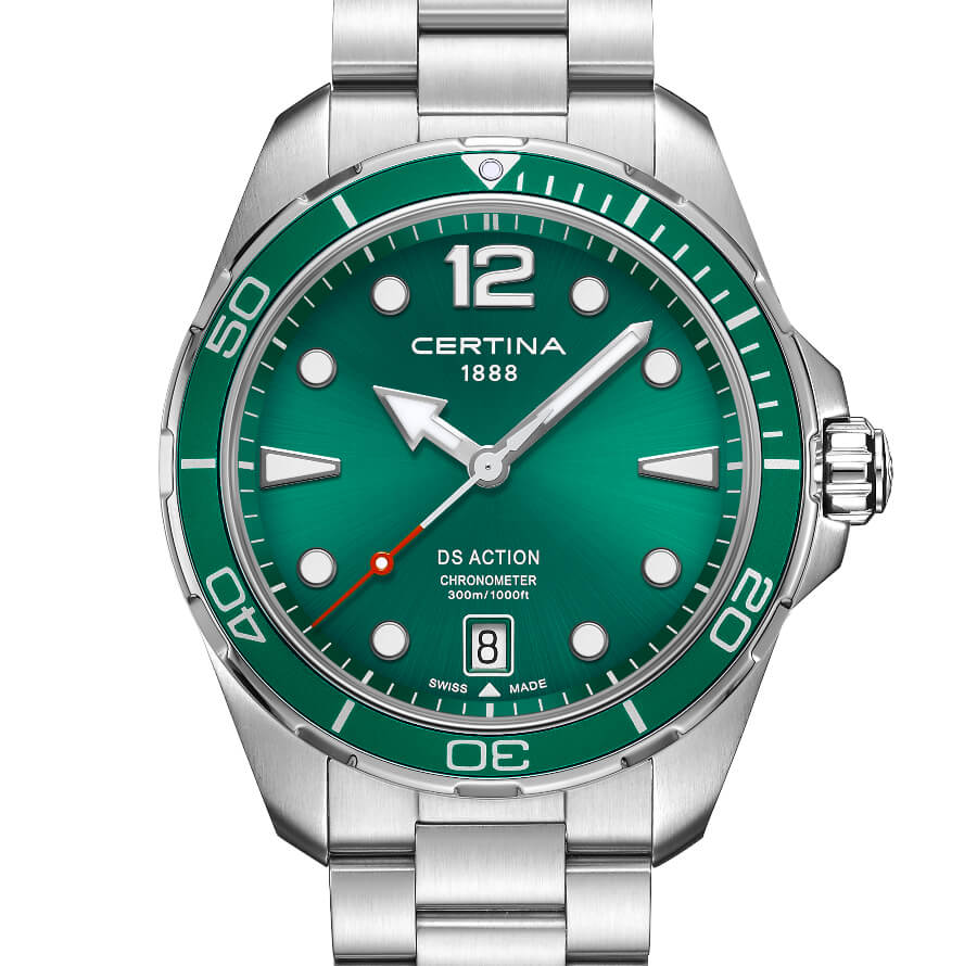 Certina DS Action Green Dial