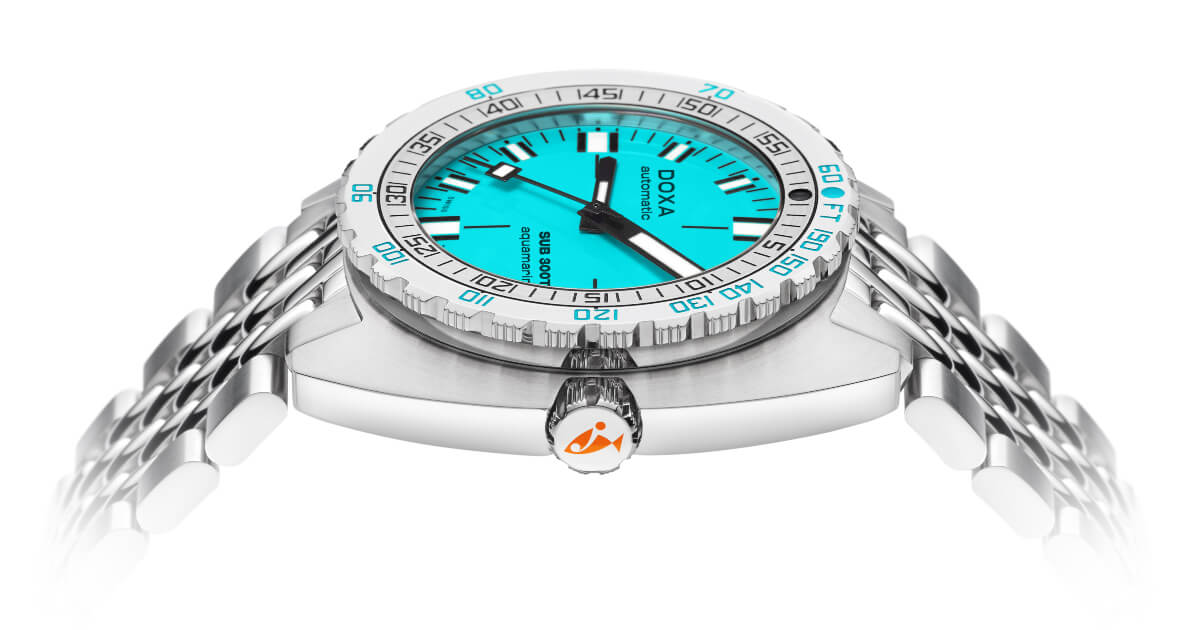 A new interpretation of the Doxa SUB 300T Conquistador (Specifications and Price)