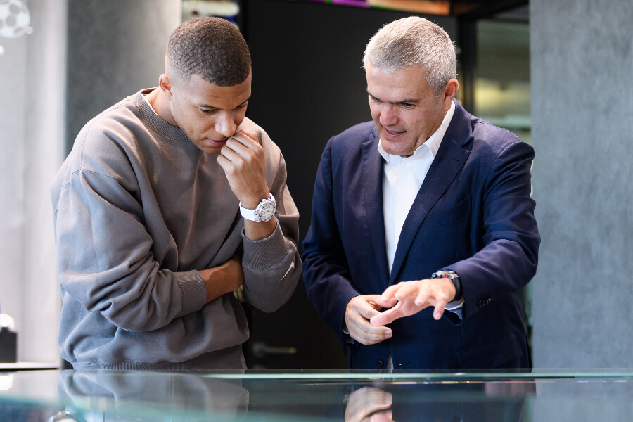 The Watch of Kylian Mbappe