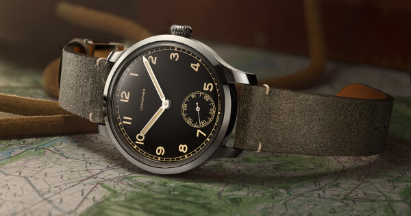 Longines Heritage Military 1938 (Price, Pictures and Specifications)