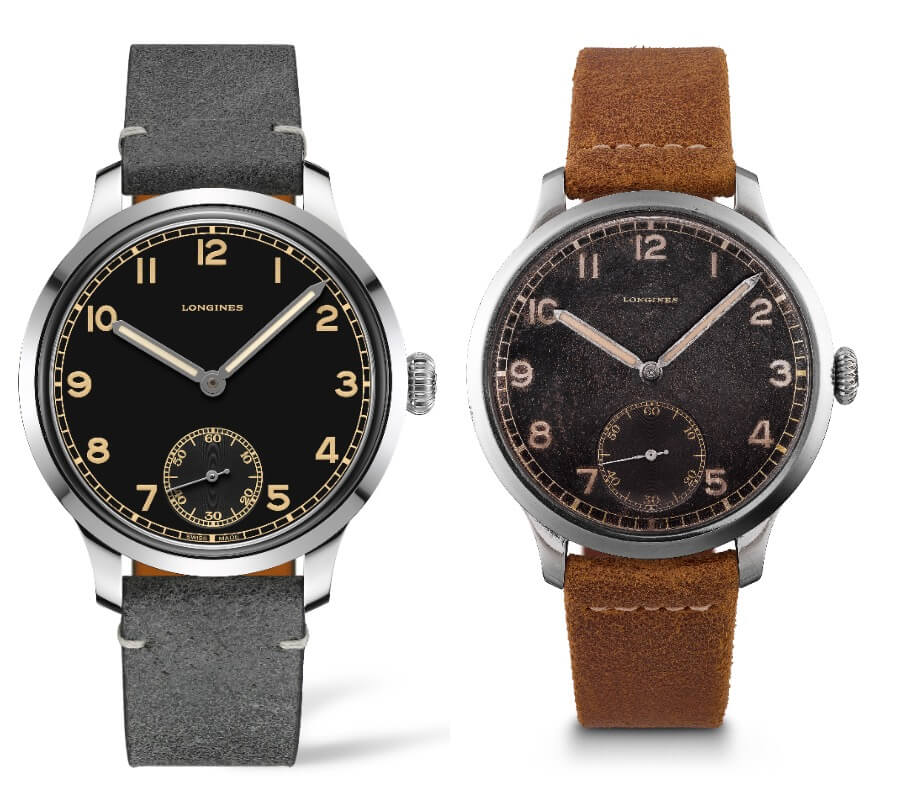 Longines Heritage Military 1938 and the Original 1938 Model