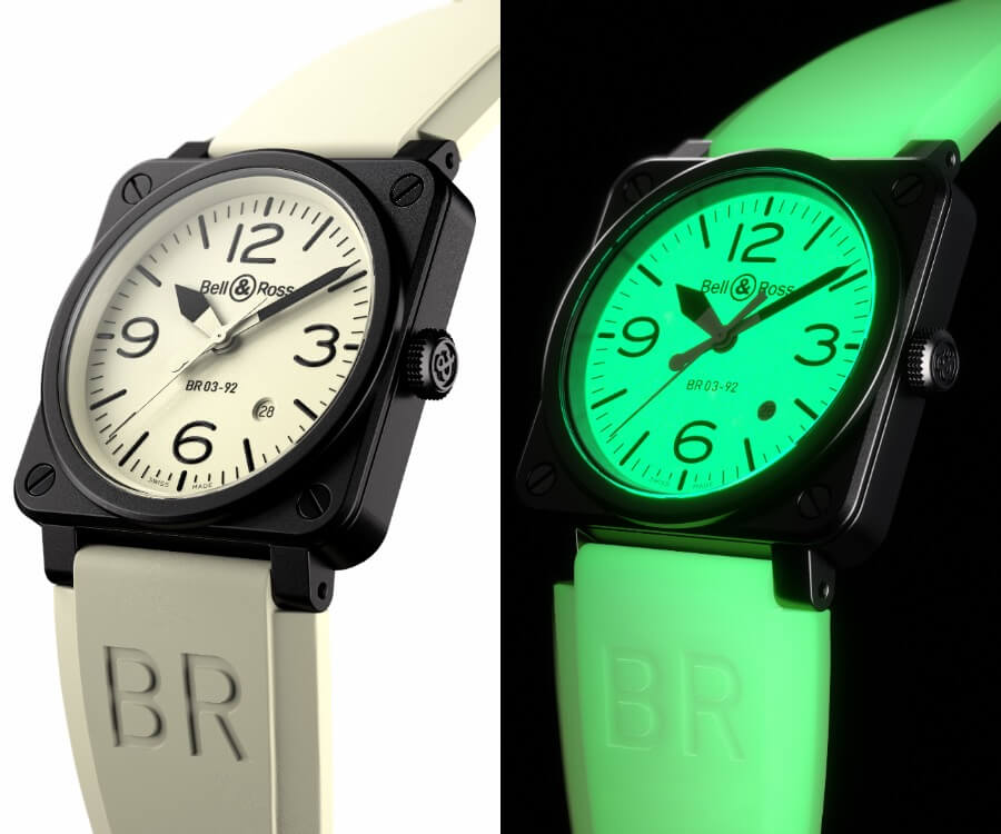 The New Bell & Ross BR03-92 Full Lum